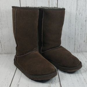 Uggs Brown Tall Classic Boots 9W